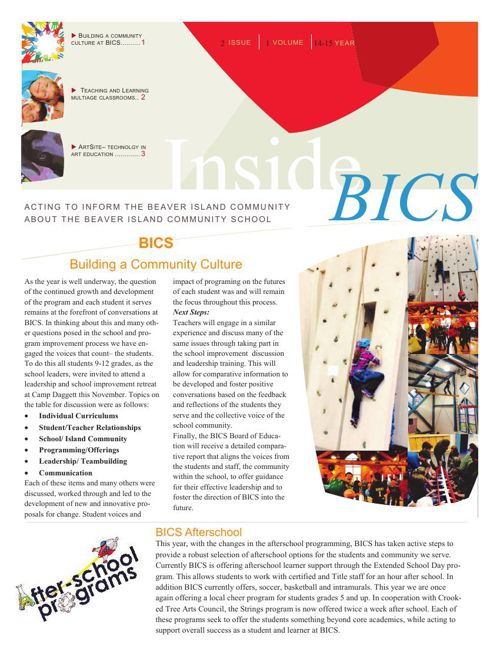 Inside BICS Issue 2