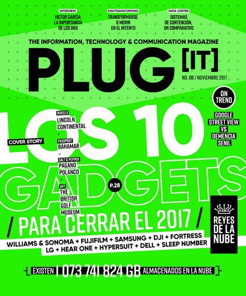 Plug IT Mag #08. Noviembre 2017.