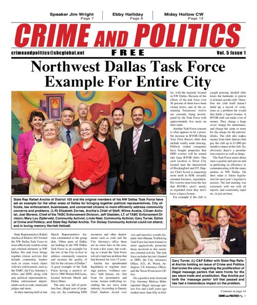 Crime and Politics