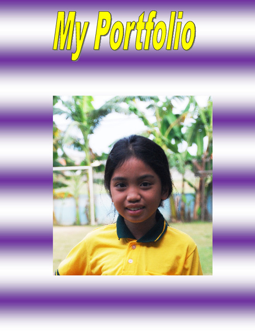 My Portfolio. Wendy. Year 5