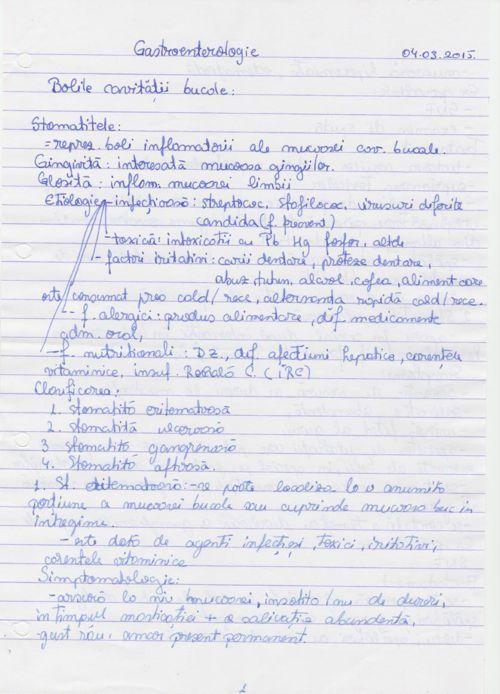 Interne - Gastroenterologie