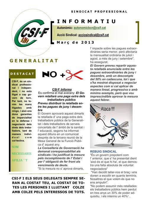 Revista marzo Catalunya