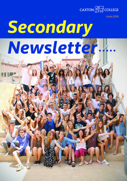 Newsletter Secundaria: Junio