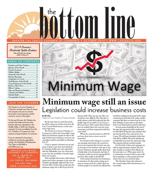 The Bottom Line October 2014