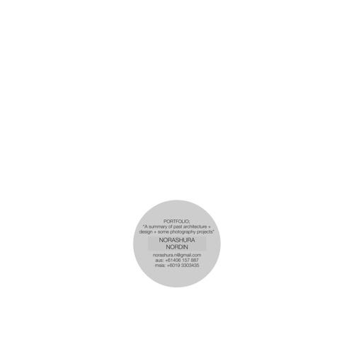 design folio | norashura nordin