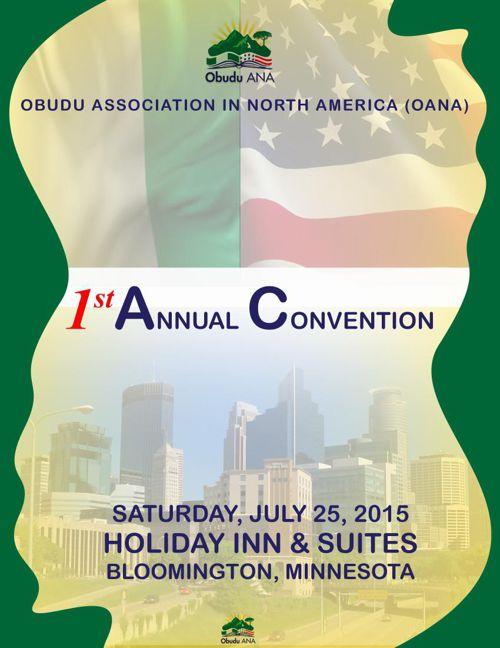 obudu Association in north america (oana) convention