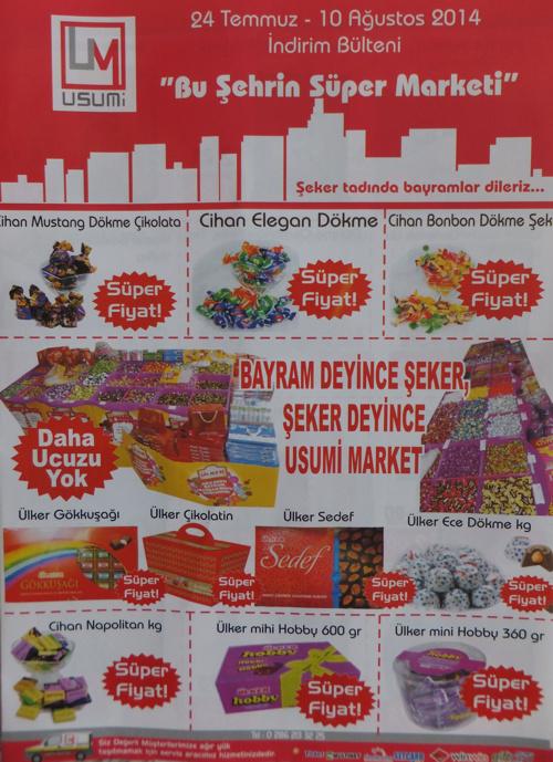 Usumi Market Ağustos Ayı Bülteni