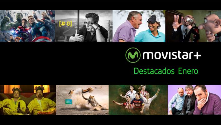 DESTACADOS MOVISTAR+ ENERO