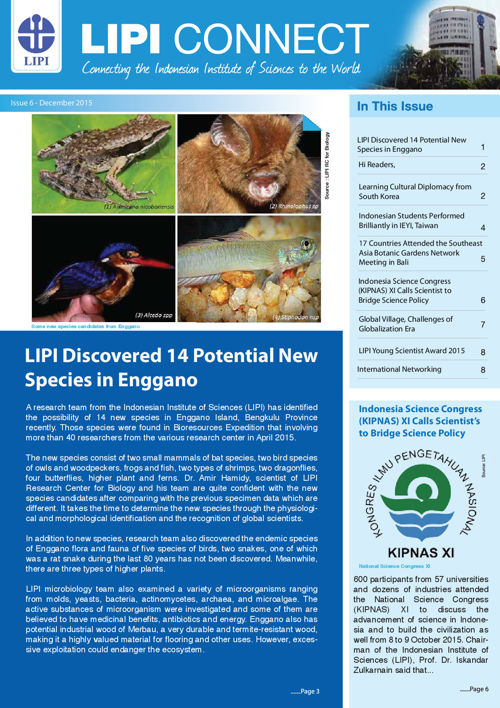 LIPI Connect Issue 6