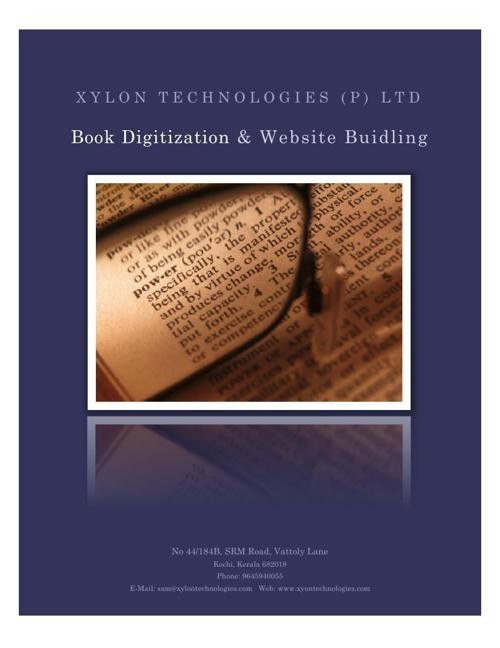 Xylon Books Digitization Proposal -1