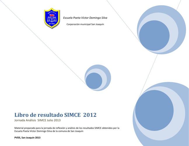 Resultados SIMCE 2013