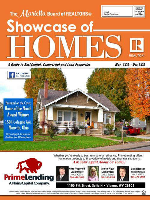 Showcase of Homes 11/15 - 12/15