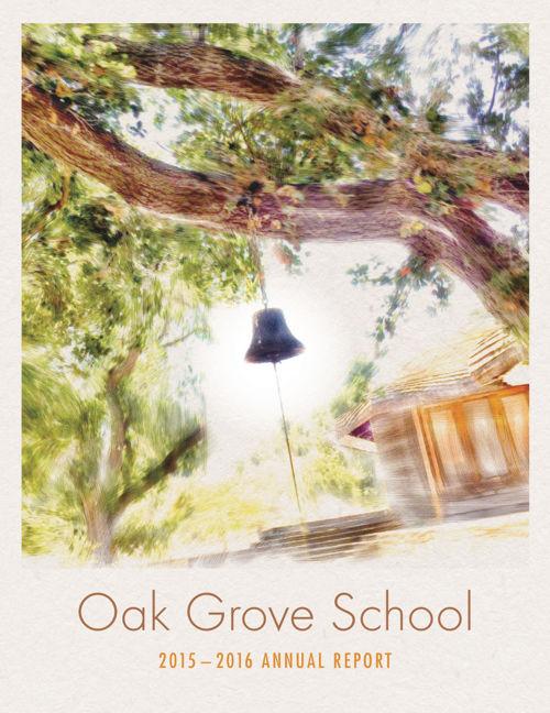 2015-2016 Oak Grove School Annual Report