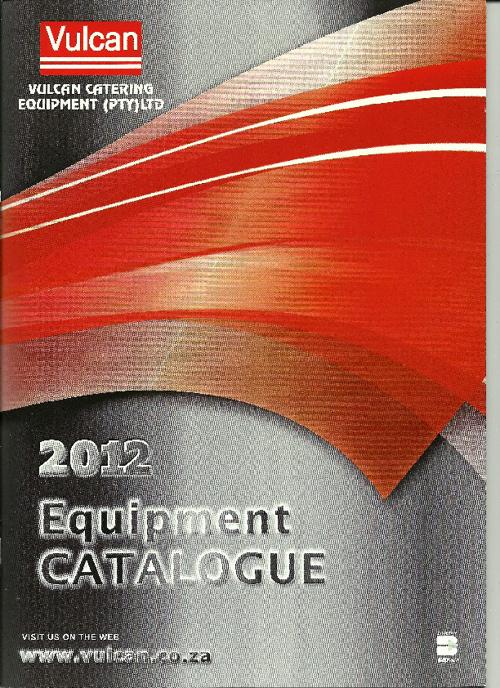 Vulcan Equipment catalogue 2012