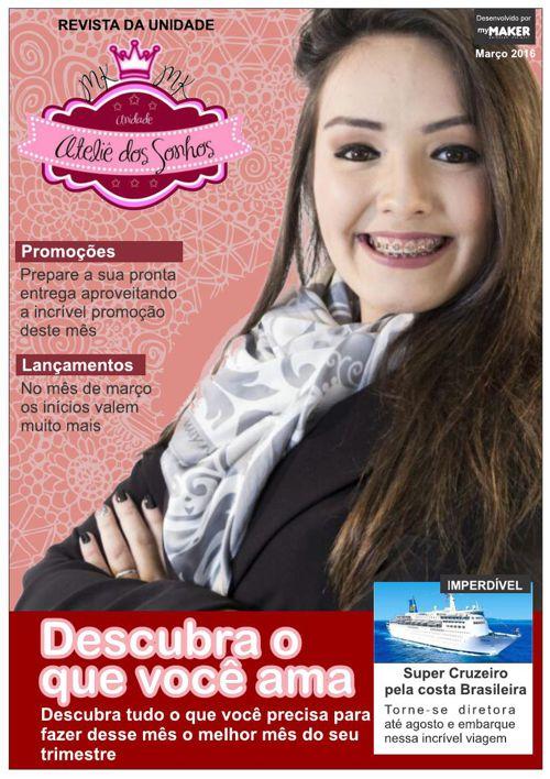 Revista Ateliê dos Sonhos - MAR16 - Juliane Mendes