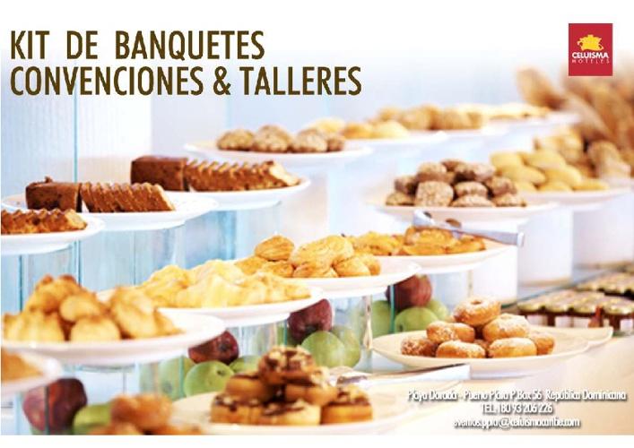 Kit de Banquetes Hotel Celuisma Playa Dorada