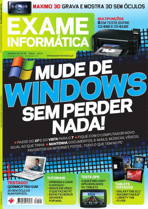 Exame Informática 195 - Set/2011