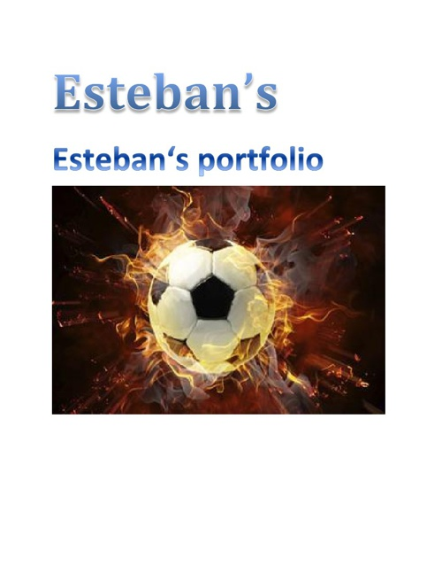 esteban's portfolio