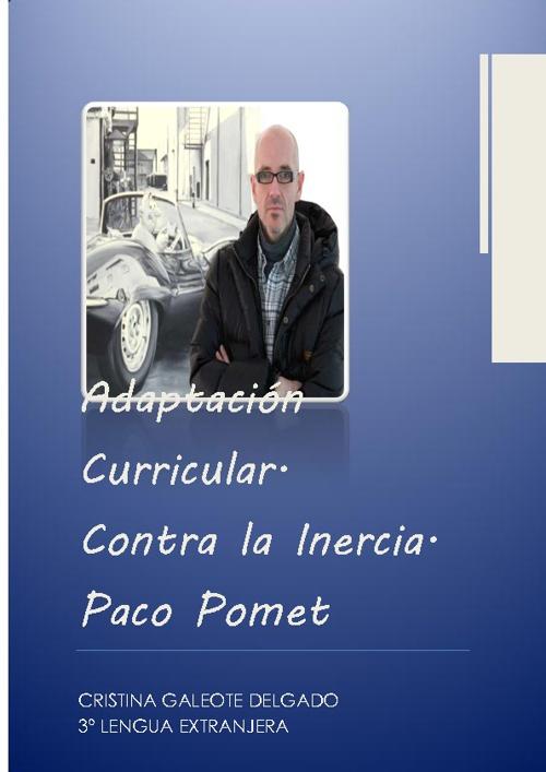 adaptación curricular paco pomet