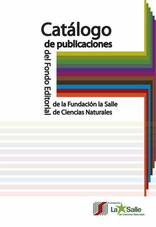 Proyecto editorial Catalogo publicaciones FLASA