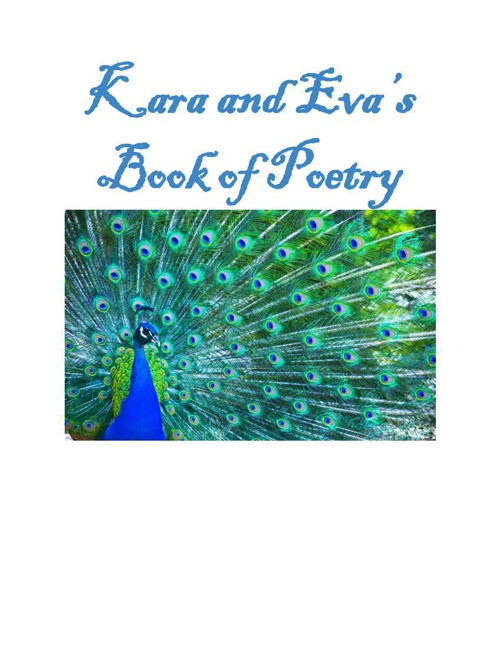 Kara and Eva's Book of Poetry