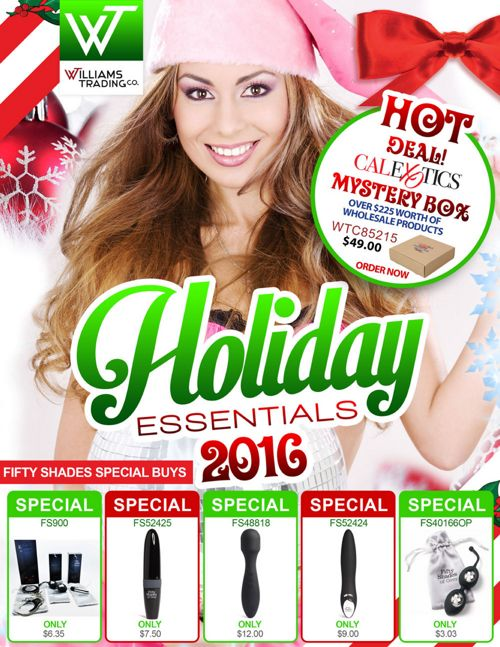 Williams Trading 2016 Holiday Essentials Catalog
