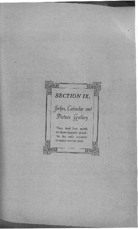 OHS 1916 Yearbook - Jokes, Calendar, and Picture Gallery