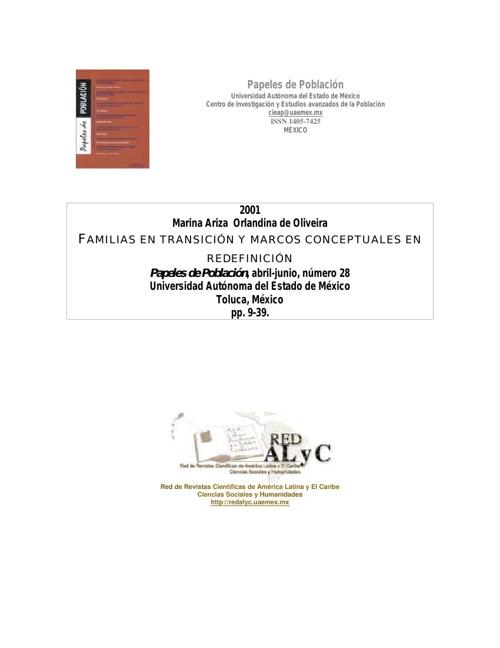 Familias en Transicion