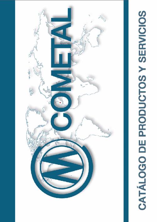 COMETAL Catalogo de Productos y Servicios