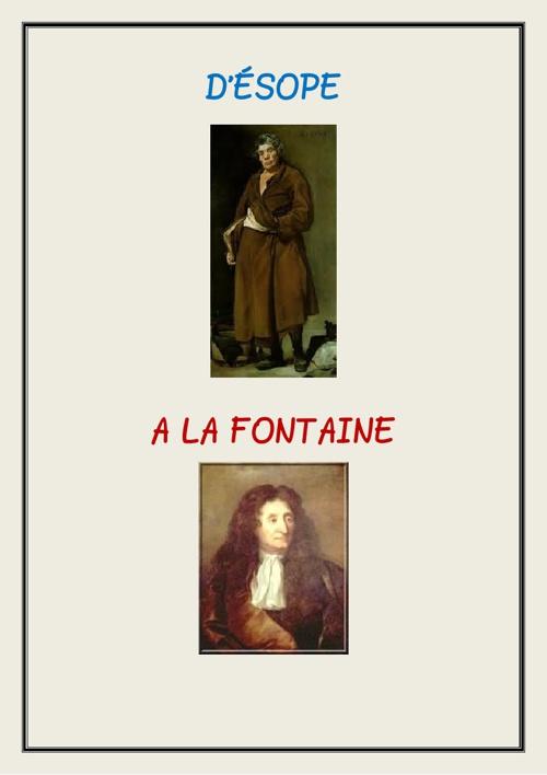D'Esope à La Fontaine