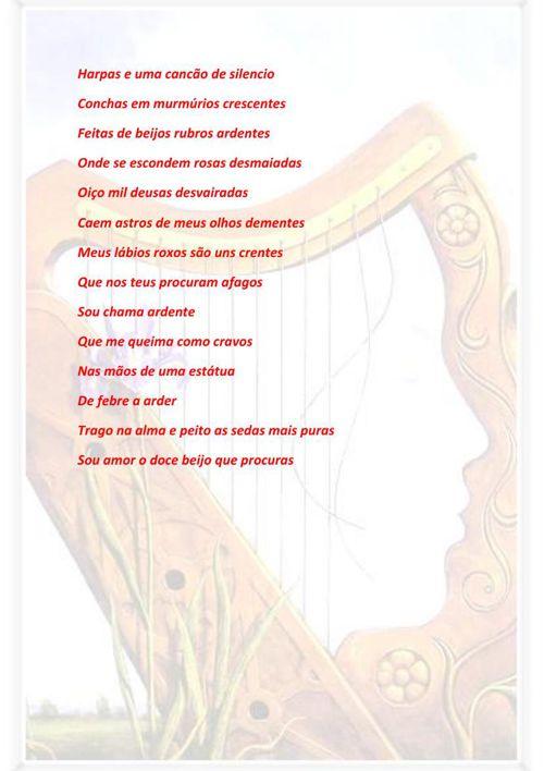 Harpas e uma cancão de silencio