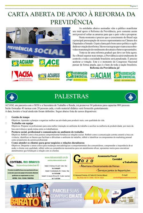 Informativo ACIAM - Julho 2017