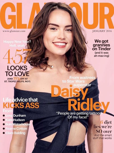 Glamour - January issue