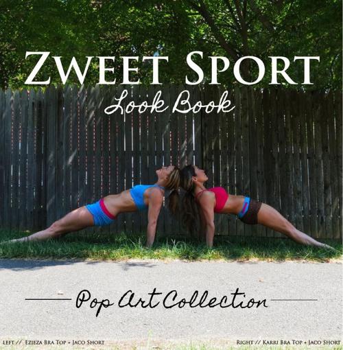 Zweet Sport Digital Look book, Pop Art Collection