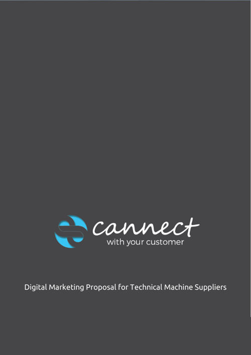 cannect emarketing proposal for TECHNICAL MACHINE SUPPLIERS 2709
