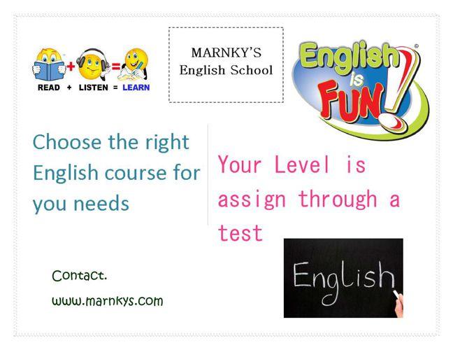 Marnky's English School