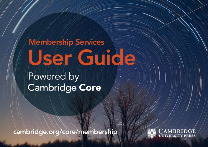 Membership Services User Guide