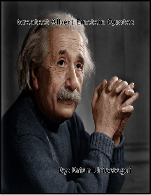 Albert Einstein's Greatest Quotes Book