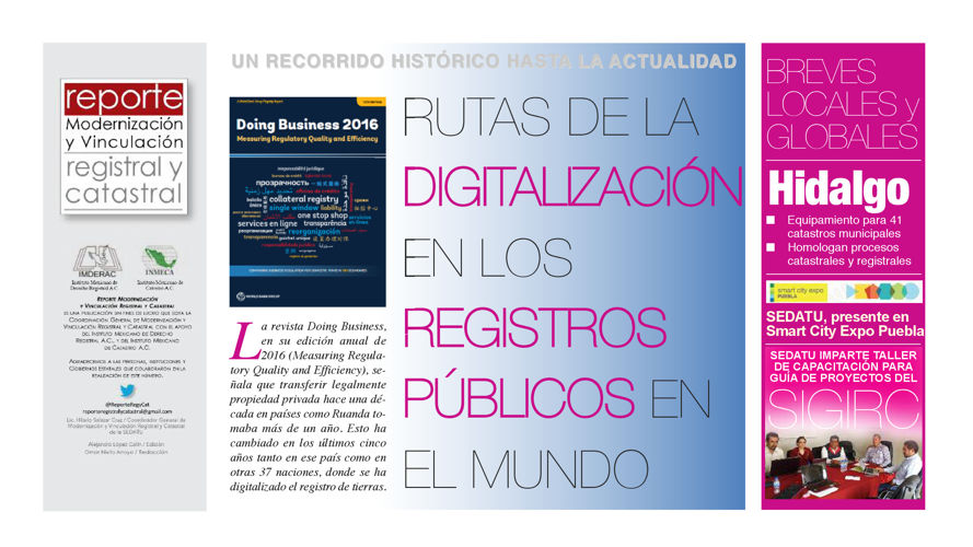 REVISTA REPORTE REGISTRAL Y CATASTRAL #8