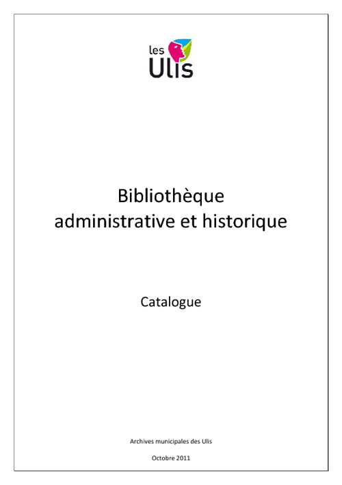 Bibliotheque des Archives