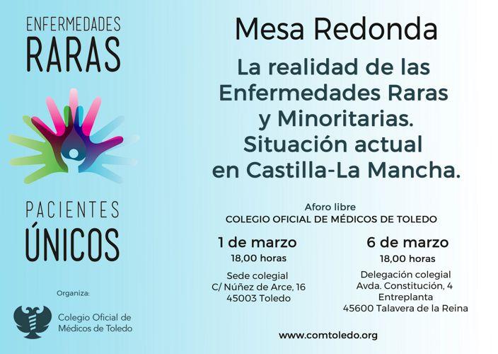 180301 Mesa Redonda Enf Raras CLM programa
