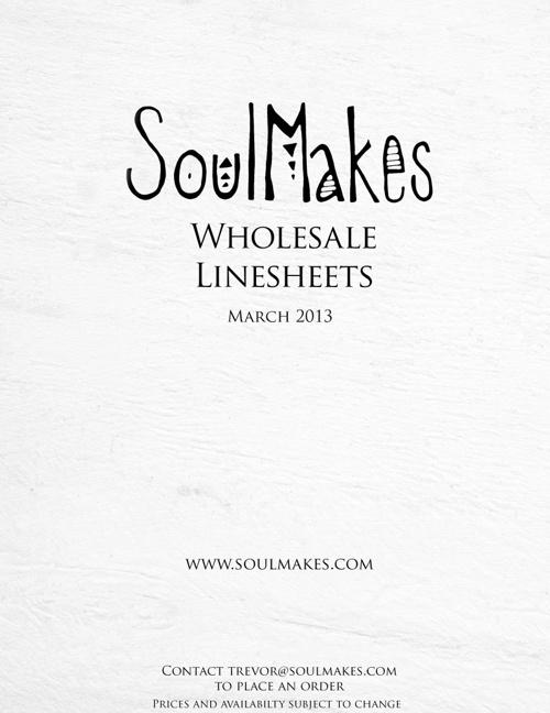 Wholesale Line Sheet 3-20-13