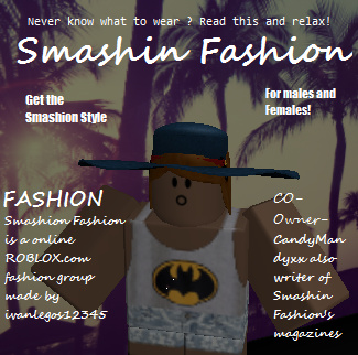 The Smashin Fashion ROBLOX Magazine!