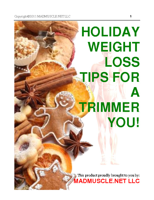 Holiday Weight Loss Tips 2011