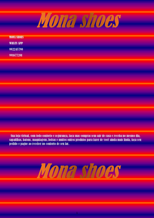 Mona shoes