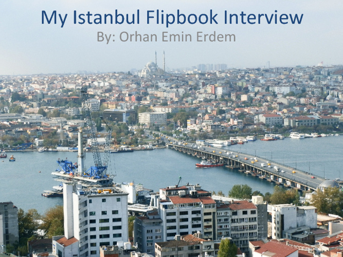My Istanbul FlipBook