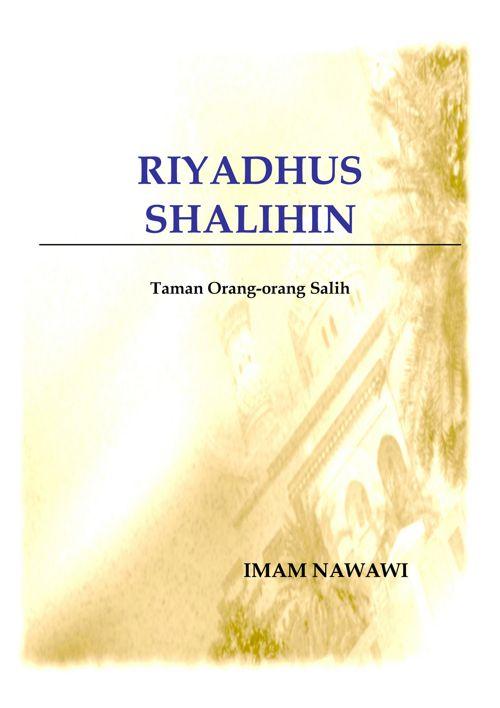 riyadhus salihin (buku 1) _ imam nawawi