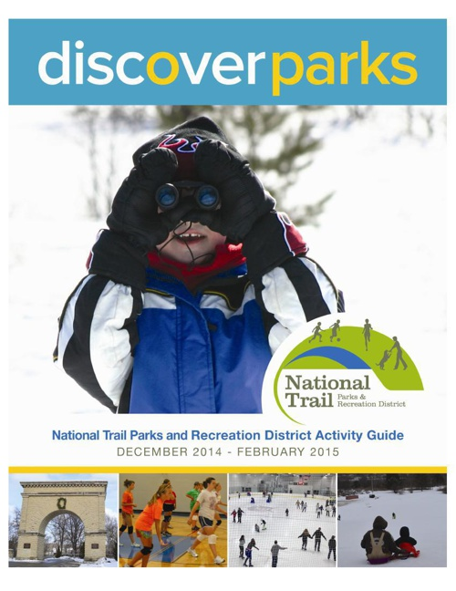 National Trail Parks & Recreation District Winter Activity Guide