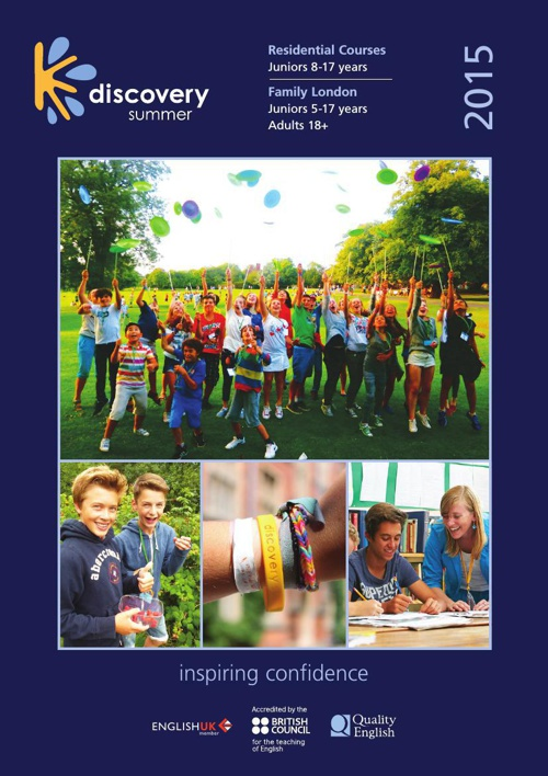 Dicovery Summer Brochure 2015