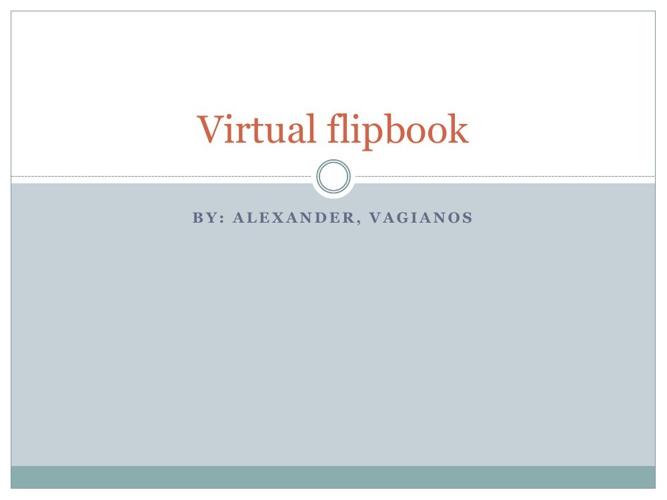 vertual flipbook